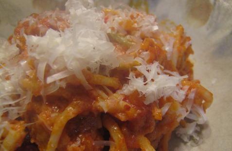 Spicing Up Leftover Pasta   aDelightfulHome.com