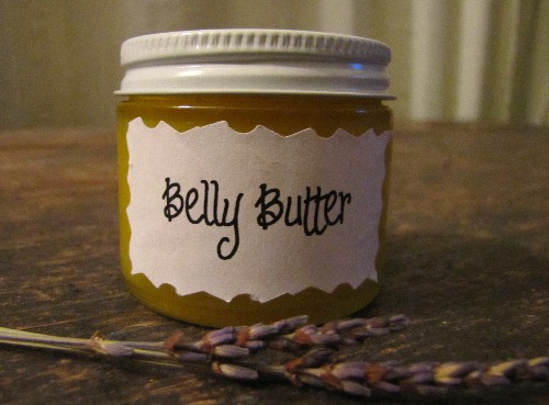 Homemade Belly Butter | aDelightfulHome.com