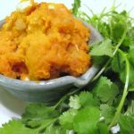 Sweet Potato and Feta Mash (a hearty side dish)