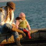"""Sometimes """"being there"""" for your child is no more than just sitting beside them"""