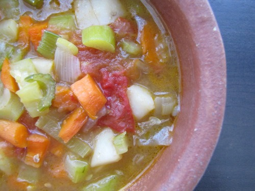 Soup for the Spring and Summer | aDelightfulHome.com