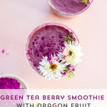 Green Tea Berry Smoothie