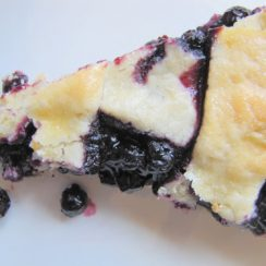Blueberry Pie (freezable and delicious) | aDelightfulHome.com