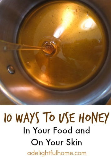 10 ways to use honey