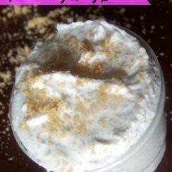 Homemade Moisturizing Body Scrub | aDelightfulHome.com