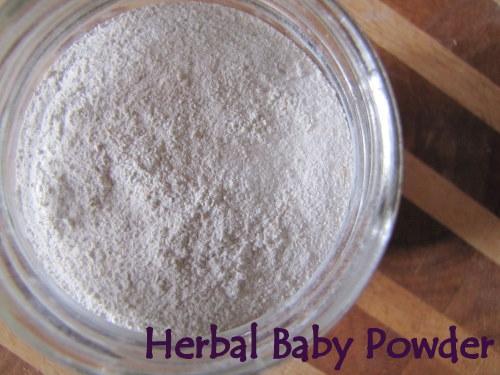 DIY Herbal baby Powder