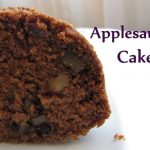 Healthy and Nutritious Applesauce Cake