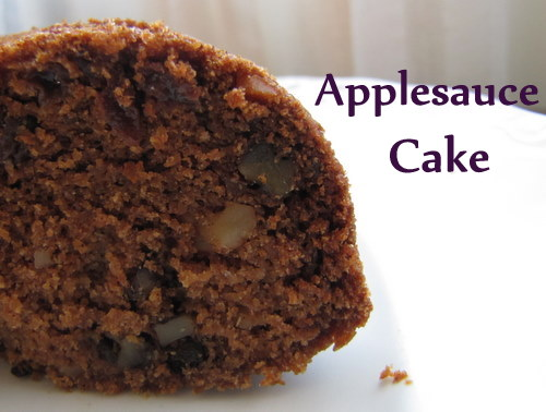 Healthy and Nutritious Applesauce Cake | aDelightfulHome.com