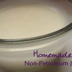 Make Your Own Non-Petroleum Jelly | aDelightfulHome.com