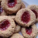 Lemon Raspberry Thumbprint Cookies (and tips for baking with whole wheat flour)