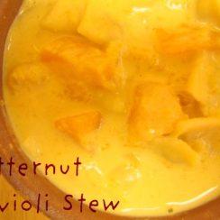 Butternut Ravioli Stew | aDelightfulHome.com