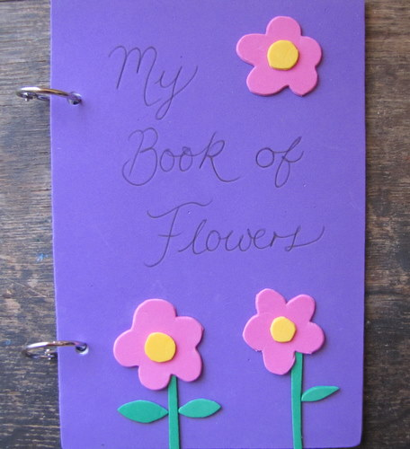 Book Cover Page Making : Making books with kids a delightful home