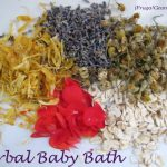 How to Make and Herbal Bath for Baby