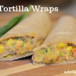 Quick and Easy Veggie Tortilla Wraps Recipe