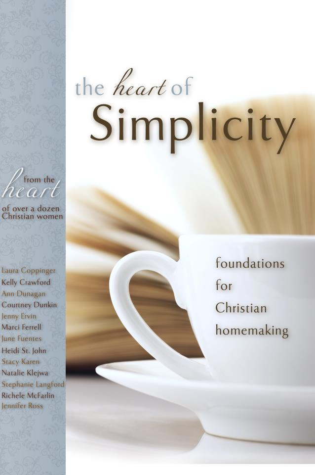 The Heart of Simplicity eBook | ADelightfulHome.com