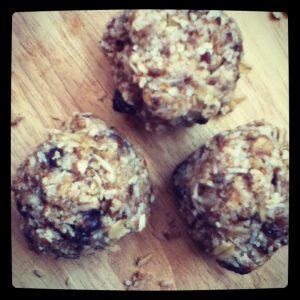 granola energy balls