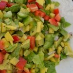 Avocado, Mango and Lime Summer Salad