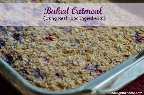 Baked Oatmeal | ADelightfulHome.com