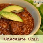 Chocolate Chili {Yes, Chocolate!}