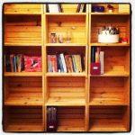 How to Make Crate Bookshelves