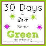 Saving Green Series Update