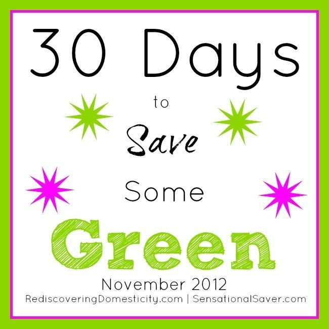 Saving Green Series Update | aDelightfulHome.com