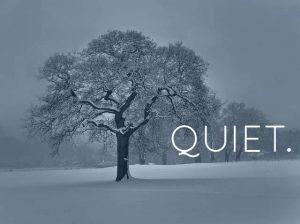 quiet for newtown