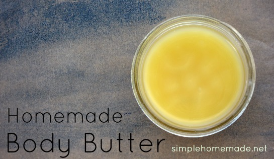 How to Make All-Natural Body Butter | aDelightfulHome.com