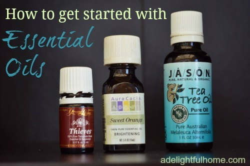 How to get started with Essential Oils | aDelightfulHome.com
