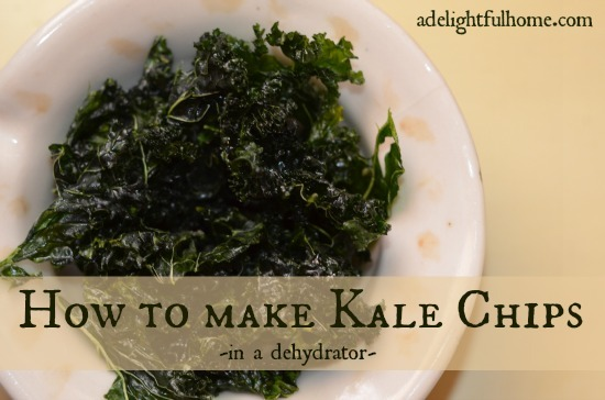 How to Make Kale Chips | ADelightfu Home.com
