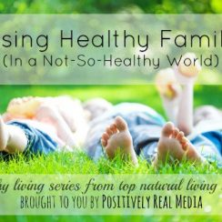 Raising Healthy Families in a Not-So-Healthy World | aDelightfulHome.com