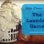 Making Chores Fun: The Laundry Game