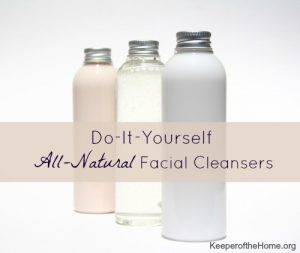 all natural facial cleansers