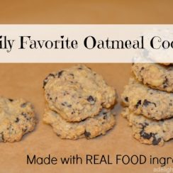 Family Favorite Oatmeal Cookies | ADelightfulHome.com