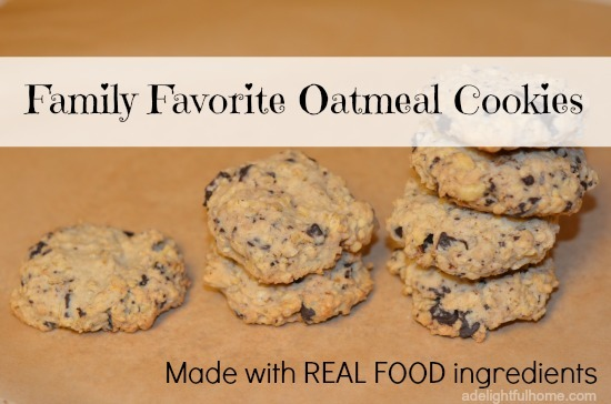 family favorite oatmeal cookies