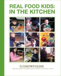 real food kids in the kitchen