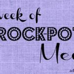 Menu Plan: A Week of Crock-Pot Meals