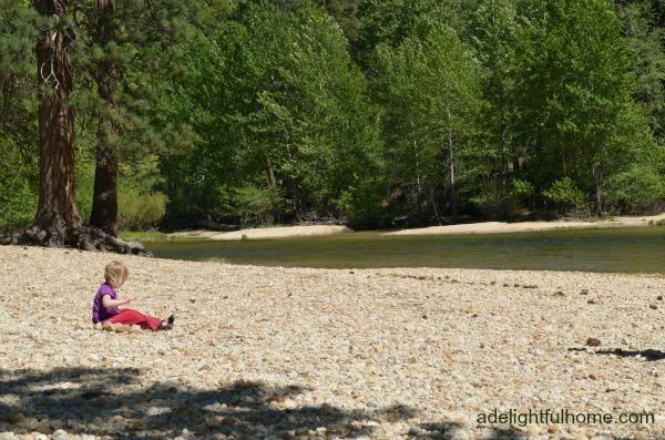 River at Yosemite