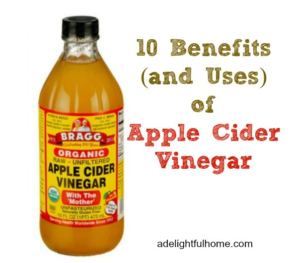 benefits and uses of apple cider vinegar