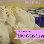 How to Make 100 Natural Body Care Gifts in an Hour!