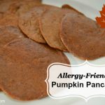 Allergy-Friendly Pumpkin Pancakes