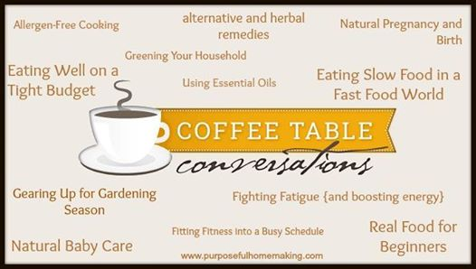 coffee table conversations topics