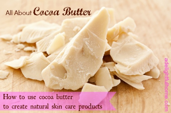 all about cocoa butter
