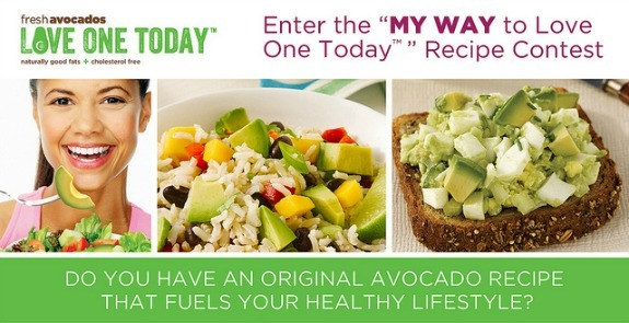 avocado recipe contest