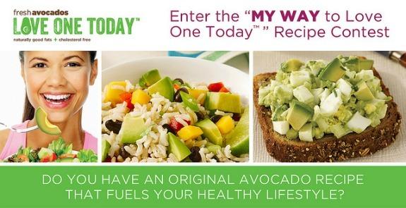 avocado recipe contest