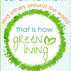 Green Your Live and Help Others around the World | aDelightfulHome.com