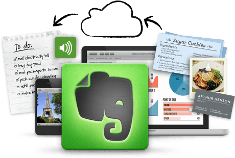 evernote to capture ideas