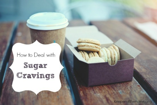 how to deal with sugar cravings 550