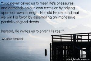 Enter His Rest
