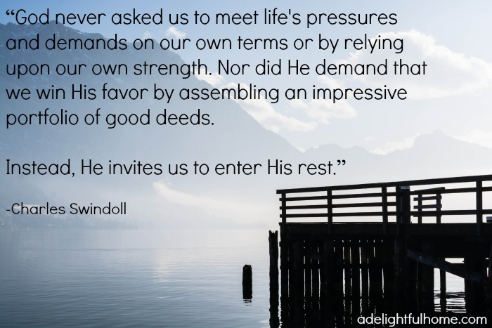 Enter His Rest